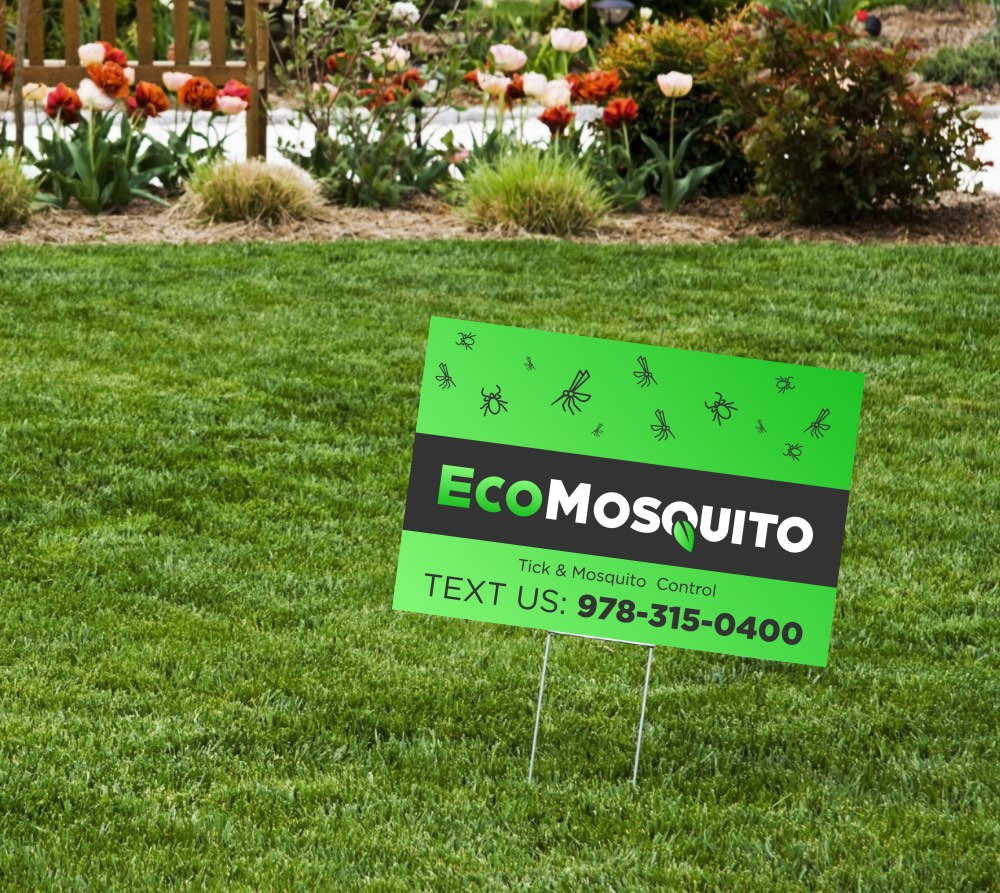 Pest Control Lawn Signs
